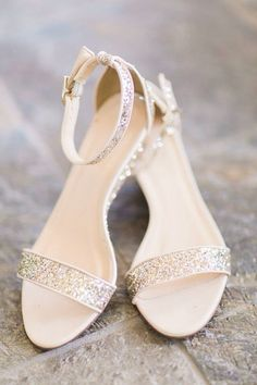 6 Beautiful Wedding Dress Trends in 2020 Bride Shoes, Prom Shoes, Fancy Shoes, Cute Shoes, J Crew, Shoes Flats Sandals, Bridesmaid Shoes, Fashion Shoes, Footwear