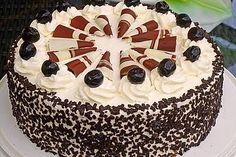 Mon Cheri – Torte Mon Cheri – Torte, a delicious recipe from the category pies. Mon Cheri, Baking Recipes, Cake Recipes, Dessert Recipes, Torte Au Chocolat, Nutella, Naked Cakes, Torte Cake, 7 Cake