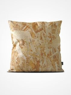 Particleboard cushion cover from How Are You