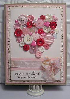 Button Heart V-Card 2013 | Flickr - Photo Sharing!