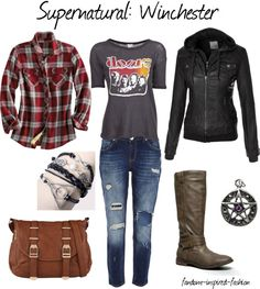Supernatural: Winchester Inspired Outfit