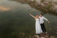 Mica y Juampi, un Trash the Dress inolvidable White Dress, Couple Photos, Dresses, Bridal Gowns, Couple Shots, Vestidos, Couple Photography, Dress, Gown