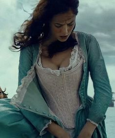 Kaya Scodelario in the Pirates of the Carribean