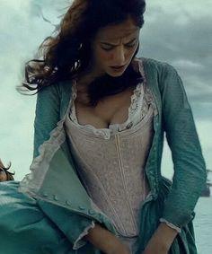 Kaya Scodelario in the Pirates of the Carribean