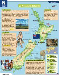 La Nouvelle-Zélande - Mon Quotidien, le seul site d'information quotidienne pour les 10-14 ans !