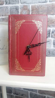 Check out this item in my Etsy shop https://www.etsy.com/uk/listing/386075260/book-clock-library-reloved-old-book