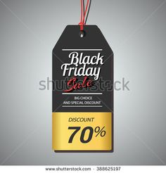 Black Friday sale promo department store template. Black Friday banner. Black Friday label. Vector illustration. - stock vector