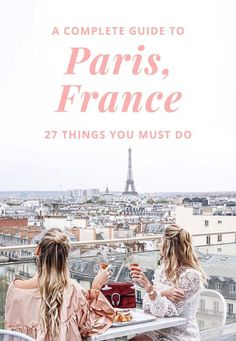 I wrote this post hoping to help you on your Paris adventure, here's a Complete Guide to Paris, France: How to See Paris in 3 Days w/ 27 things to do & eat