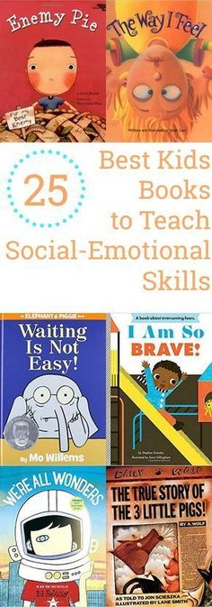 25 Best Kids Books to Teach Social-Emotional Skills - The Organized Mom 25 Best Kids Books to Teach Social-Emotional Skills - The Organized Mom,Social Work. ❤️ 25 Best Kids Books to Teach Social-Emotional Skills - The Organized Mom Teaching Social Skills, Social Emotional Learning, Teaching Reading, Learning Skills, Emotional Books, Social Emotional Development, Emotional Kids, Teaching Emotions, Reading School