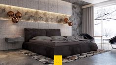 7 Bedrooms With Brilliant Accent Walls , http://www.interiordesign-world.com/7-bedrooms-with-brilliant-accent-walls-2/