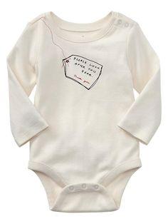 Gap | Paddington Bear™ for babyGap bear tag graphic bodysuit