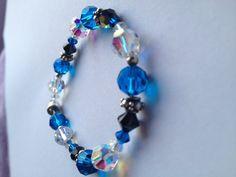 Swarovski Crystal Bracelets by mjohns224 on Etsy, $20.00