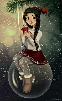 Merry Christmas and happy holidays, everyone! I wish you endless love & happiness and may all your wishes come true! ♥