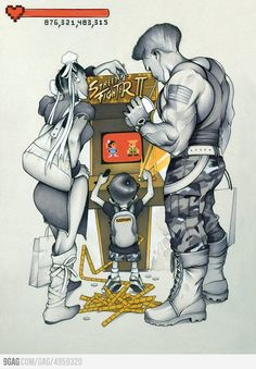 street fighter Retro Gaming : http://www.helpmedias.com/retrogaming.php