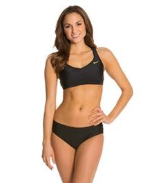 a8b60a907dd90 Nike 2 Piece Trainer Swimsuit Set at SwimOutlet.com - Free Shipping