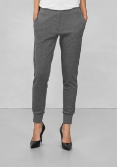Other Stories. Sweatpants. Made from soft, sturdy cotton, these leggings have a cool, relaxed look.