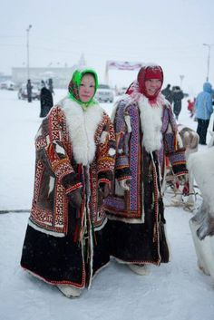 Khanty Women in Traditional Dress, google search