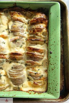 Cheese and Cream Baked Potatoes by Heather Christo, via Flickr