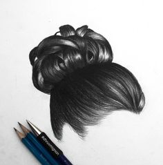 Detailed hair bun... @dhruvmignon  Be Inspirational ❥ Mz. Manerz: Being well dressed is a beautiful form of confidence, happiness & politeness