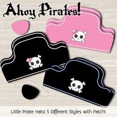 Free Pirate Hat printables