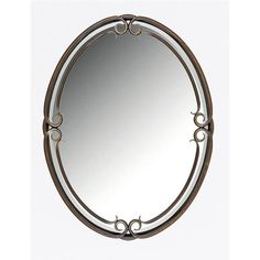 Lowest price online on all Quoizel Duchess Large Mirror in Palladian Bronze - DH44030PN