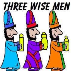 Three Wise Men Sunday School Lesson. Comes with matching materials.