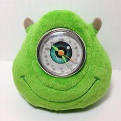 Mike Wazowski Plush Clock - Disney Monsters Inc. $49.99