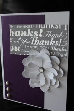 Bridal Shower Thank you Cards - Part Tres