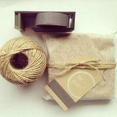 Washi Tape Gift wrapping / Envolturas washi tape packaging