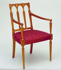 by Thomas Sheraton Antique Chairs, Antique Furniture, Cabinet Makers, Take A Seat, Classic Furniture, Regency, Period, Dining Chairs, Tables