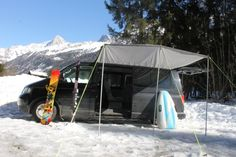 The Khyam Sun Canopy is a superb addition to any campervan, motorhome or caravan. Simply slide the beading into an awning rail and have instant shelter. Sun Canopy, Campervan, Motorhome, Caravan, Outdoor Gear, Vw, Shelter, Tent, Beading