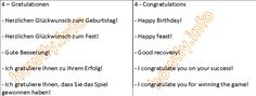 German For Beginners: Congratulations