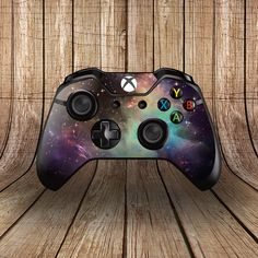 Xbox One Controller Skin - Galaxy 4 - Custom Controller Skin Xbox One S, Xbox One Games, Epic Games, Custom Xbox One Controller, Xbox Controller, Playstation, Nintendo Switch, Control Xbox, Games