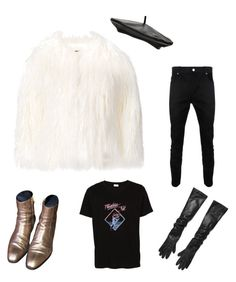 Glam Laurent by nicolasgomez-1 on Polyvore featuring La Seine & Moi, Michael Kors, Witchery, Yves Saint Laurent, Moschino, paris, YSL, glamrock, glam and polyvoreeditorial