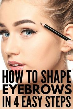 Eyebrow Shaping Discover Brows on Fleek: 14 Eyebrow Hacks Every Girl Should Know Want gorgeous thick and natural eyebrows your friends will envy? Were sharing 14 eyebrow hacks every girl should know and you dont want to miss out! Prom Makeup Looks, Fall Makeup Looks, Winter Makeup, Summer Makeup, Pretty Makeup, Make Up Looks, Eye Makeup Tips, Smokey Eye Makeup, Eyebrow Tips