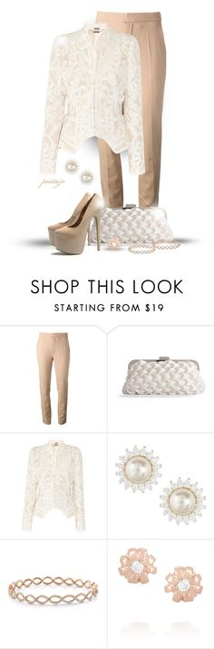 """""""Cut Work"""" by rockreborn ❤ liked on Polyvore featuring Chloé, Lulu Townsend, Alexander McQueen, VIcenza, Irene Neuwirth, Alex Monroe and AX Paris"""
