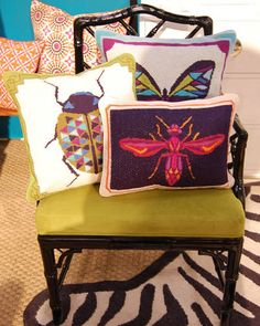 Jonathan Adler never disappoints and his pillows are among the best.