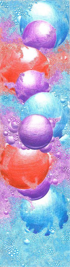 Circles by JustinChristenbery on DeviantArt Textures Patterns, Colored Pencils, Circles, Mandala, Bubbles, Deviantart, Portrait, Artist, Image