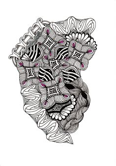 Renates Zentangle 02.03.2017 Ink Doodles, Zentangles, Flower Patterns, Floral, Mandalas, Doodle Flowers, Zentangle, Floral Patterns, Flowers