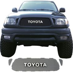 w// Wheel Opening Flares PAINTED TOYOTA SEQUOIA 2001-04 FRONT BUMPER COVER