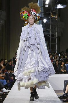 Comme des Garcons Ready To Wear Spring Summer 2018 Paris