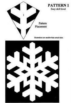 Ateliê das Oliveiras: Flocos de neve de papel
