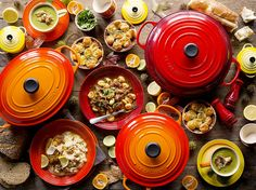 Le Creuset Autumn Table