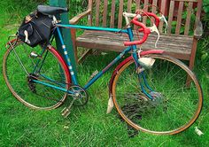 Pretty vintage Tom Bromwich of Coventry bicycle