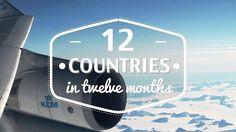12 Countries   Twelve Months on Vimeo