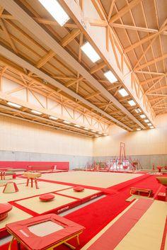 Gallery - Hacine Cherifi Gymnasium / Tectoniques Architects - 11 #architecture #interior #wood