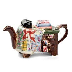 Tony Carter - Quilt Maker One Cup Teapot