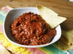 Slow Cooker Beanless Chili