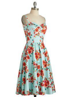 Stop Staring! Posy Parlance Dress | Mod Retro Vintage Dresses | ModCloth.com
