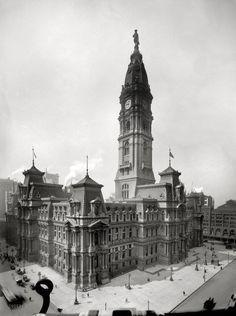 City Hall, Philadelphia 1909